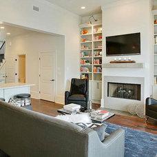 Contemporary Living Room by Bmac Interiors, LLC