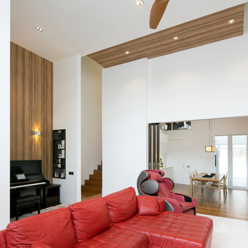 Terrace house in North East part of Singapore