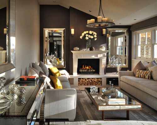 Brown Accent Wall Ideas Pictures Remodel And Decor