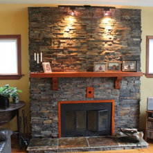Fireplaces An Ideabook By Realstone Systems