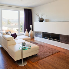 Contemporary Living Room by kbcdevelopments