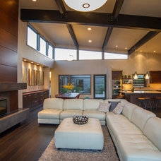 Contemporary Living Room by Tebbs Design Group