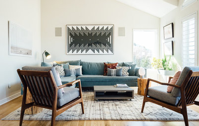New This Week: 3 Living Rooms That Put Talk Above TV