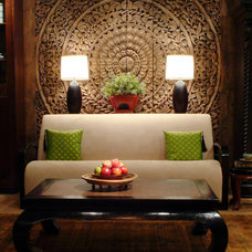 asian living room by The Golden Triangle