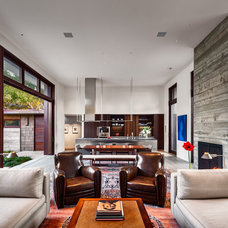 Contemporary Living Room by Neumann Mendro Andrulaitis Architects LLP