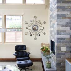 Contemporary Living Room by Alan Mascord Design Associates Inc