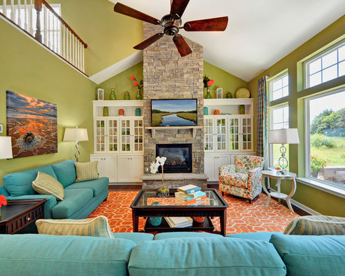 Lime Green Red | Houzz