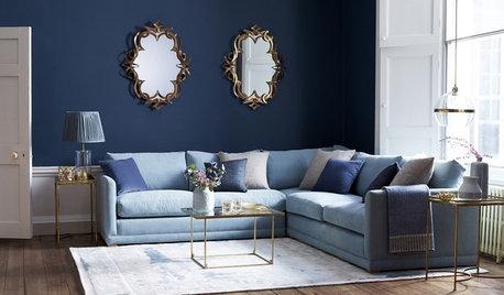 Så inreder du med blå soffor – 7 olika stilar