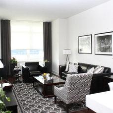 Contemporary Living Room by Jason Pavlacka Design