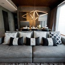Modern Living Room by The Grene Group