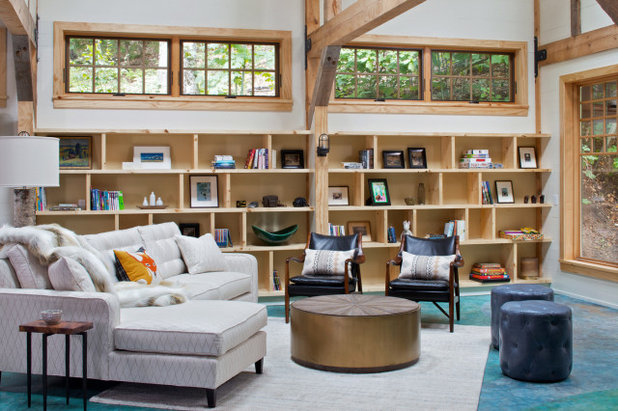 Country Living Room by The Quiet Moose