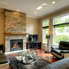 Traditional Living Room by Gordon Tobey Developments
