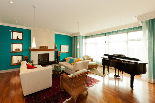 Contemporary Living Room by Habitat Studio