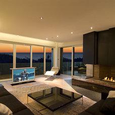 Modern Living Room by NEXUS 21