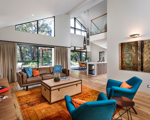 Orange Living Room Ideas, Pictures, Remodel And Decor