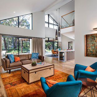 Blue And Orange Living Room Houzz