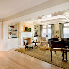 Traditional Living Room by OLSON LEWIS + Architects