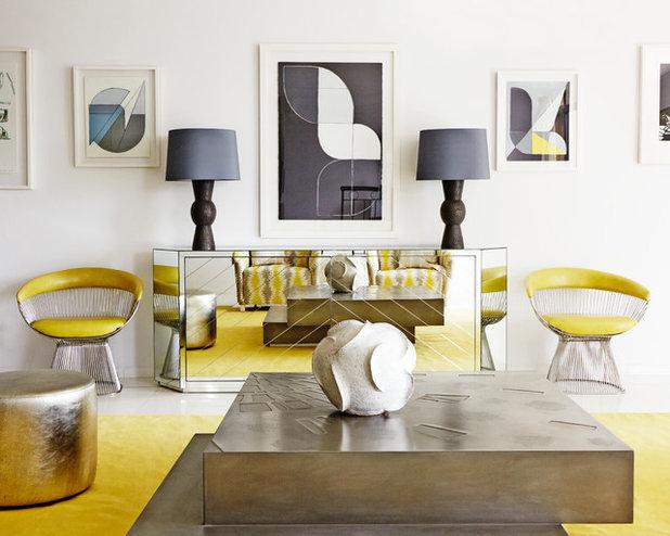 Contemporain Salon by E & A Interiors