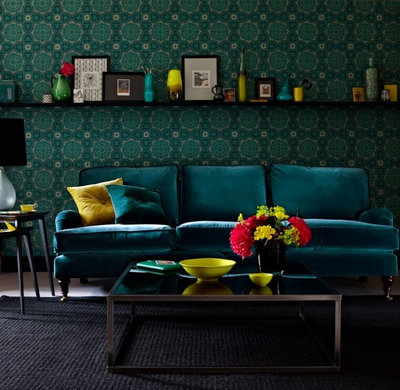 Eclectic Living Room by Sofa.com