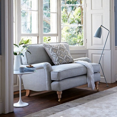 American Traditional Living Room by Sofa.com