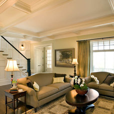 Traditional Living Room by Mitch Wise Design,Inc.