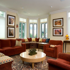 Traditional Living Room by Sopher Sparn Architects LLC