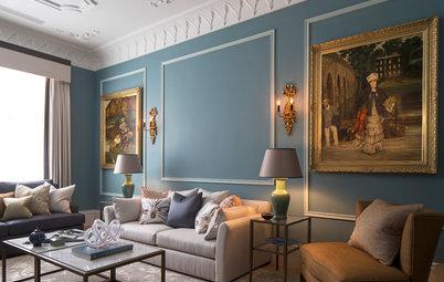Casas Houzz: Un esplendoroso piso de estilo clásico en Londres