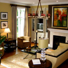 traditional living room by SR Design Group, Inc.