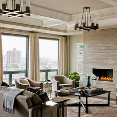 Contemporary Living Room by Terrat Elms Interior Design