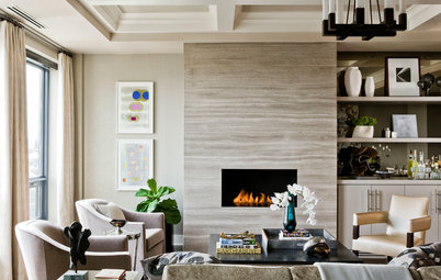 Ribbons of Fire: 10 Artfully Minimalist Fireplaces