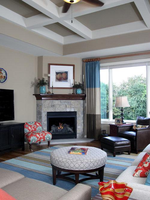 Grey Living Room Design Ideas Renovations Amp Photos With A