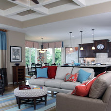 Traditional Living Room by Carstensen Homes