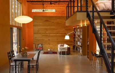 Houzz Tour: High Efficiency for a Modern Riverside Cabin