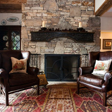 Traditional Living Room by Debby Hall