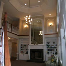 Traditional Family Room by Wagner Homes