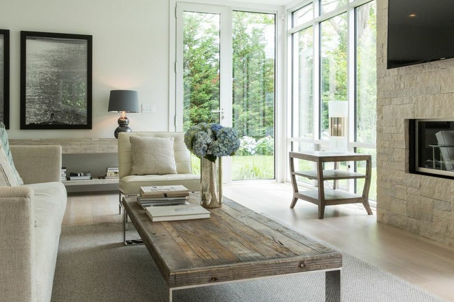 Contemporary Living Room by Sylvester & Co.