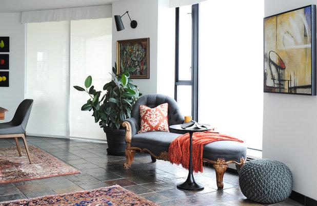 Di transizione Soggiorno by Simply Home Decorating