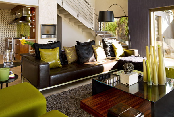 Contemporary Living Room by Nico van der Meulen Architects