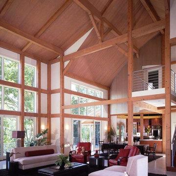 The Contemporary Barn House