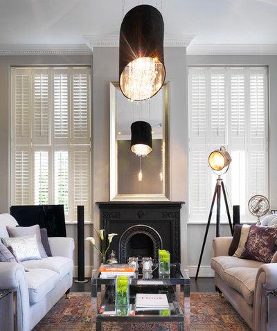 Victorian Living Room by Boscolo Interior Design
