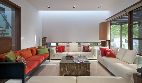 How to Design a Serene & a Peaceful Living Room