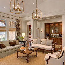 Traditional Living Room by Orchid Interiors