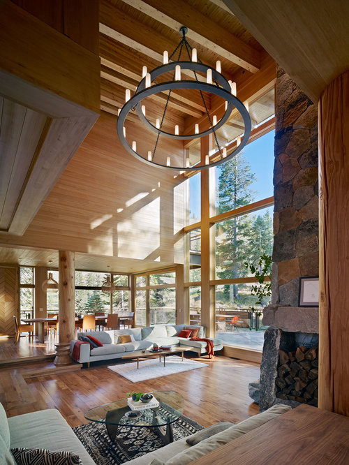 27,363 high ceiling Living Room Design Photos - High Ceiling Living Room Design Ideas, Remodels & Photos Houzz