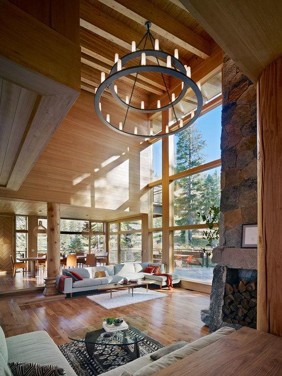 Living Room Decor High Ceilings high ceiling living room design ideas, remodels & photos | houzz