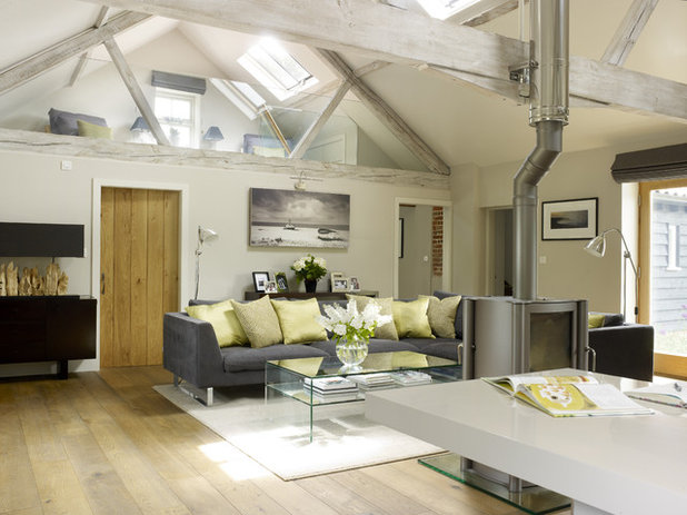 Country Living Room by Rendall & Wright