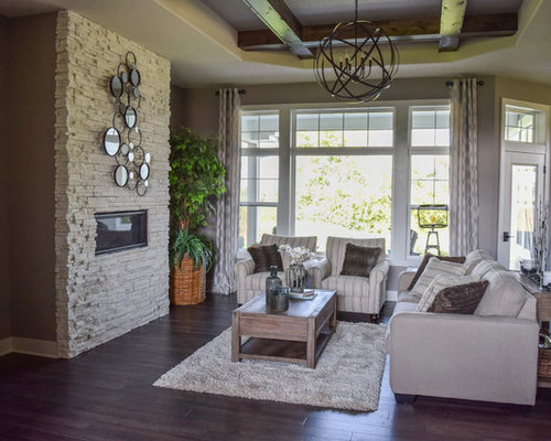 Inspiration For A Living Room Remodel In Milwaukee