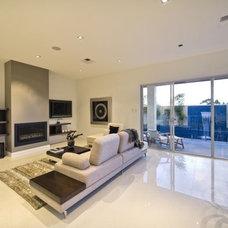 Contemporary Living Room The Dante