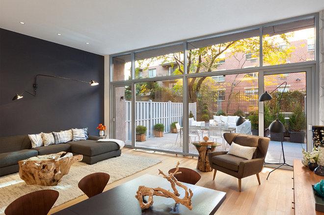 Modern Living Room by mw-studio.com