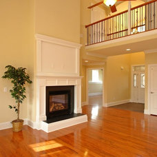 Traditional Living Room by Stanton Homes