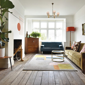 The Eclectic Family Living Space